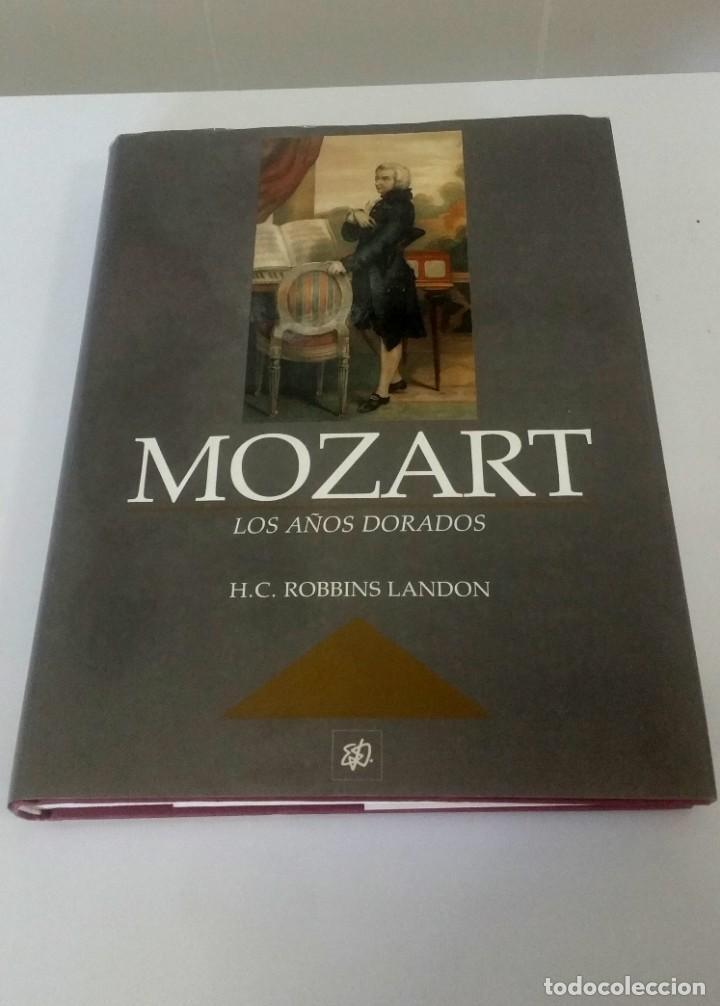 MOZART, LOS AÑOS DORADOS. ROBBIN LANDON (Libros Nuevos - Literatura - Biografías)