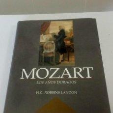 Libros: MOZART, LOS AÑOS DORADOS. ROBBIN LANDON. Lote 225561090