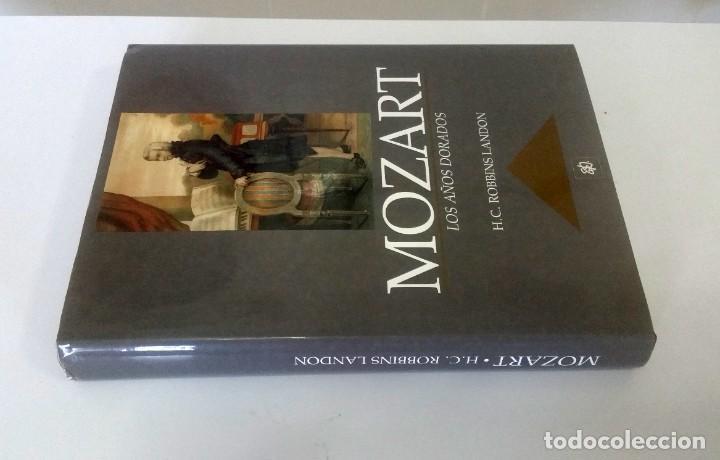 Libros: Mozart, los años dorados. Robbin Landon - Foto 2 - 225561090