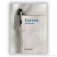 Libros: EDITOR. TOM MASCHLER. NUEVO. Lote 226236333