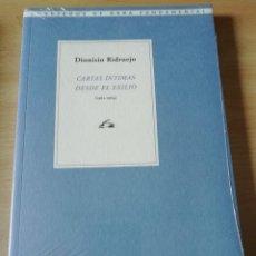 Livres: DIONISIO RIDRUEJO EN CARTAS ÍNTIMAS DESDE EL EXILIO. Lote 226808765