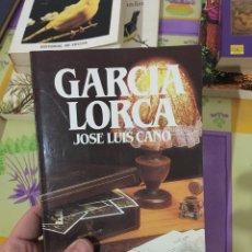 Libros: FEDERICO GARCIA LORCA (JOSE LUIS CANO). Lote 232072145