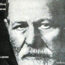 Livres: SIGMUND FREUD Y EL PSICOANALISIS.(EDICCIÓN ILUSTRADA).GERARD LAUZUN. Lote 234475990