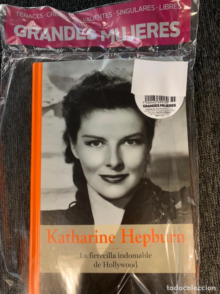 GRANDES MUJERES KATHARINE HEPBURN - NUEVO (Libros Nuevos - Literatura - Biografías)