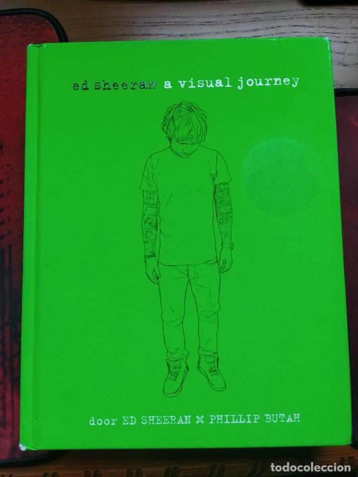 ED SHEERAN: A VISUAL JOURNEY. TAPA DURA. HOLANDÉS (Libros Nuevos - Literatura - Biografías)