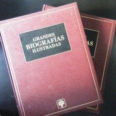Libros: GRANDES BIOGRAFIAS ILUSTRADAS (2 TOMOS). Lote 240953140