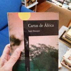 Libros: CARTAS DE ÁFRICA, ISAK DINESEN. Lote 253022000