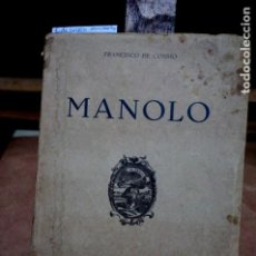 Libros: DE COSSIO FRANCISCO.MANOLO.. Lote 253267695