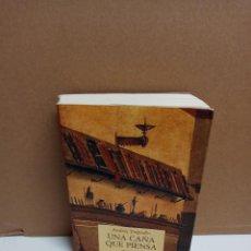 Livres: ANDRÉS TRAPIELLO - UNA CAÑA QUE PIENSA - EDITORIAL PRE-TEXTOS. Lote 258965510