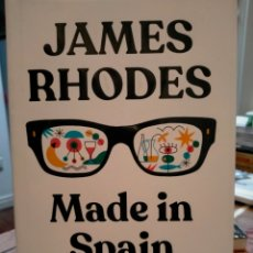Livres: JAMES RHODES. MADE IN SPAIN .B. Lote 259723745