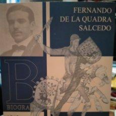 Libros: JOSÉ RAMÓN BLANCO. FERNANDO DE LA QUADRA SALCEDO .MUELLE DE URIBITARTE. Lote 260775950