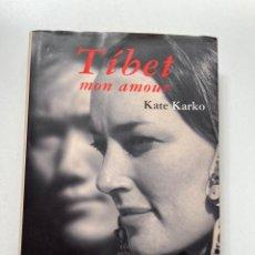 Libros: TÍBET MON AMOUR KATE KARKO EDITORIAL MONDADORI 2001. Lote 261692075