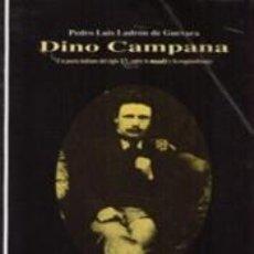 Libros: DINO CAMPANA (UN POETA ITALIANO DEL SIGLO XX, ENTRE LO MAUDIT Y LA EZQUIZOFRENIA). Lote 262566765