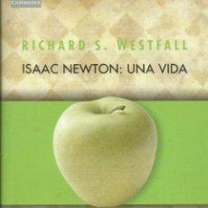 Libros: ISAAC NEWTON: UNA VIDA / RICHARD WESTFALL.. Lote 262861335