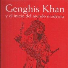 Libros: GENGHIS KHAN / JACK WEATHEARFORD. Lote 263059640