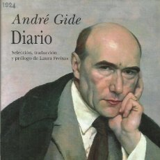 Libros: DIARIOS / ANDRÉ GIDE.. Lote 267397094