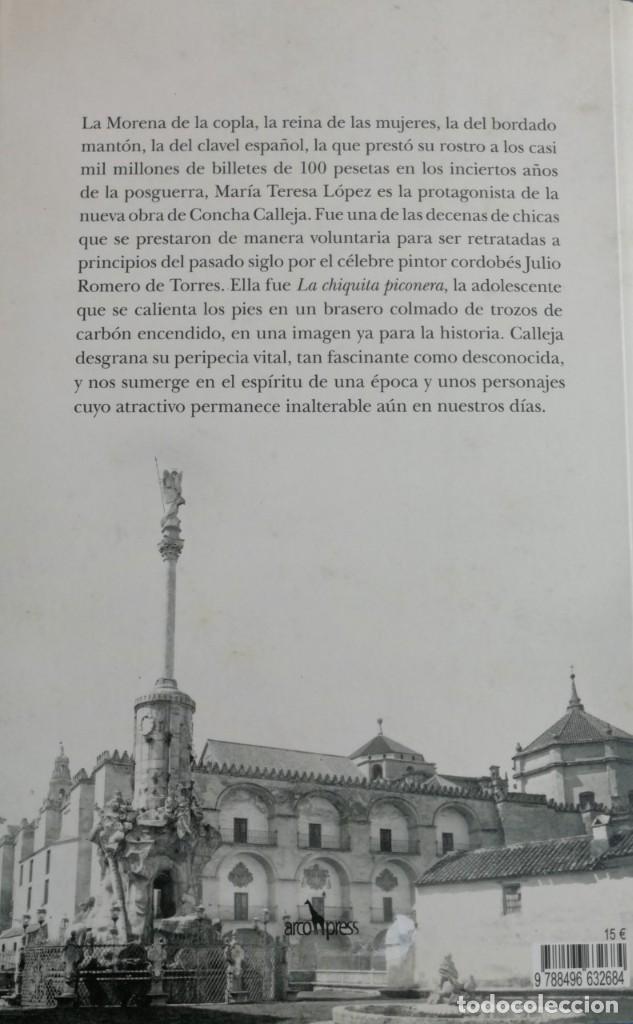 Libros: Concha Calleja. La mujer morena. - Foto 2 - 276580593