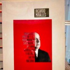 Libros: RICARDO MIRALLES. INDALECIO PRIETO Y EL MOVIMIENTO SOCIALISTA .TECNOS. Lote 276753433