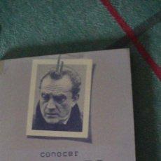 Libros: CONOCER VISCONTI Y SU OBRA (COLECCIÓN CONOCER) . GUARNER, JOSE LUIS. DOPESA, 1978. Lote 288014768