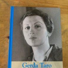 Libros: COLECCIÓN GRANDES MUJERES GERDA TARO - NUEVO. Lote 292048643