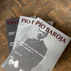 Libros: PÍO BAROJA - DESDE LA ÚLTIMA PIEDRA DEL CAMINO 3 VOL. - TUSQUETS (2006) ENVÍO GRATIS. Lote 292346728