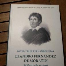 Libros: LEANDRO FERNÁNDEZ DE MORATÍN. EL ILUSTRADO ERRANTE PREMIO ANTONIO DOMÍNGUEZ ORTIZ BIOGRAFÍAS 2021. Lote 293844848