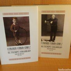 Libros: FERNANDO FERNAN GÓMEZ. EL TIEMPO AMARILLO. Lote 293869813