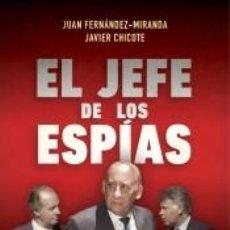 Libros: EL JEFE DE LOS ESPÍAS. Lote 295017863