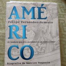 Libros: AMÉRICO. Lote 295412728