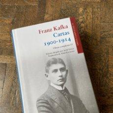Libros: CARTAS - FRANZ KAFKA - GALAXIA GUTENBERG (2018) ENVÍO GRATIS. Lote 295535688