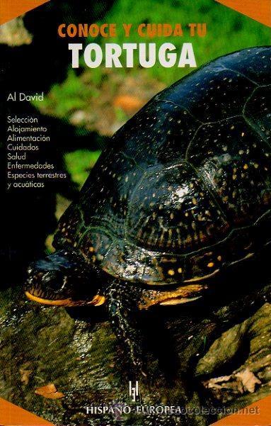 CONOCE Y CUIDA TU TORTUGA. AL DAVID. HISPANO EUROPEA, 1ª EDICIÓN, 2001 (Libros Nuevos - Ciencias, Manuales y Oficios - Biología)