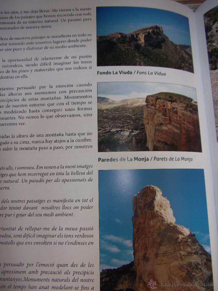 Libros: LA SERRA DE CREVILLENT , LA PRESERVACIÓN DEL MEDIO AMBIENTE , CREVILLENTE - ALICANTE. - Foto 14 - 52530431