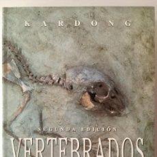 Libros: VERTEBRADOS. ANATOMÍA COMPARADA, FUNCIÓN Y EVOLUCIÓN. KARDONG.. Lote 94782259