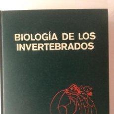 Libros: BIOLOGÍA DE LOS INVERTEBRADOS. GARDINER.. Lote 94782751