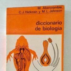 Libros: DICCIONARIO DE BIOLOGIA. . Lote 94818735