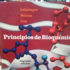 Libros: PRINCIPIOS DE BIOQUIMICA LEHNINGER. EDT OMEGA. Lote 103929267