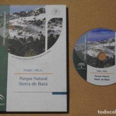 Libros: PARQUE NATURAL SIERRA DE BAZA (PORN/PRUG). +CD ROM. ESPACIOS NATURALES PROTEGIDOS GRANADA. Lote 105766347