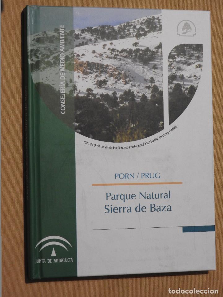 Libros: PARQUE NATURAL SIERRA DE BAZA (PORN/PRUG). +CD ROM. ESPACIOS NATURALES PROTEGIDOS GRANADA - Foto 2 - 105766347
