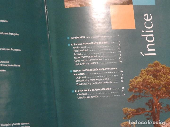 Libros: PARQUE NATURAL SIERRA DE BAZA (PORN/PRUG). +CD ROM. ESPACIOS NATURALES PROTEGIDOS GRANADA - Foto 3 - 105766347