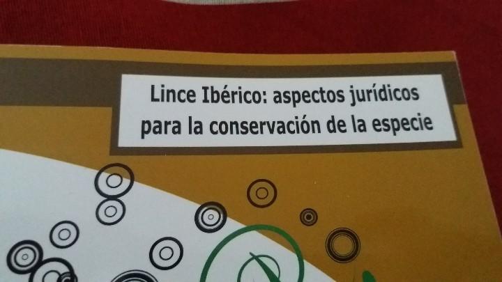 Libros: MANUAL. LIBRO. CONSERVACION EX SITU DEL LINCE IBERICO:UN ENFOQUE MULTIDISCIPLINAR. UNICO EN TC. LEER - Foto 9 - 98239011