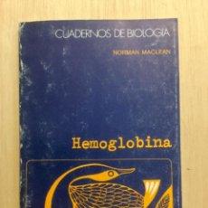 Libros: HEMOGLOBINA. OMEGA. Lote 112646719