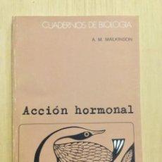 Libros: ACCIÓN HORMONAL. OMEGA.. Lote 112647283