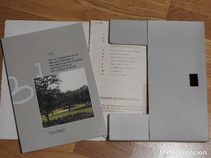 PORN Y PRUG DEL PARQUE NATURAL SIERRA NORTE DE SEVILLA CON MAPAS (Libros Nuevos - Ciencias, Manuales y Oficios - Biología)