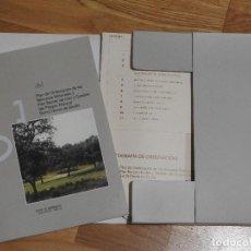 Libros: PORN Y PRUG DEL PARQUE NATURAL SIERRA NORTE DE SEVILLA CON MAPAS. Lote 112934491