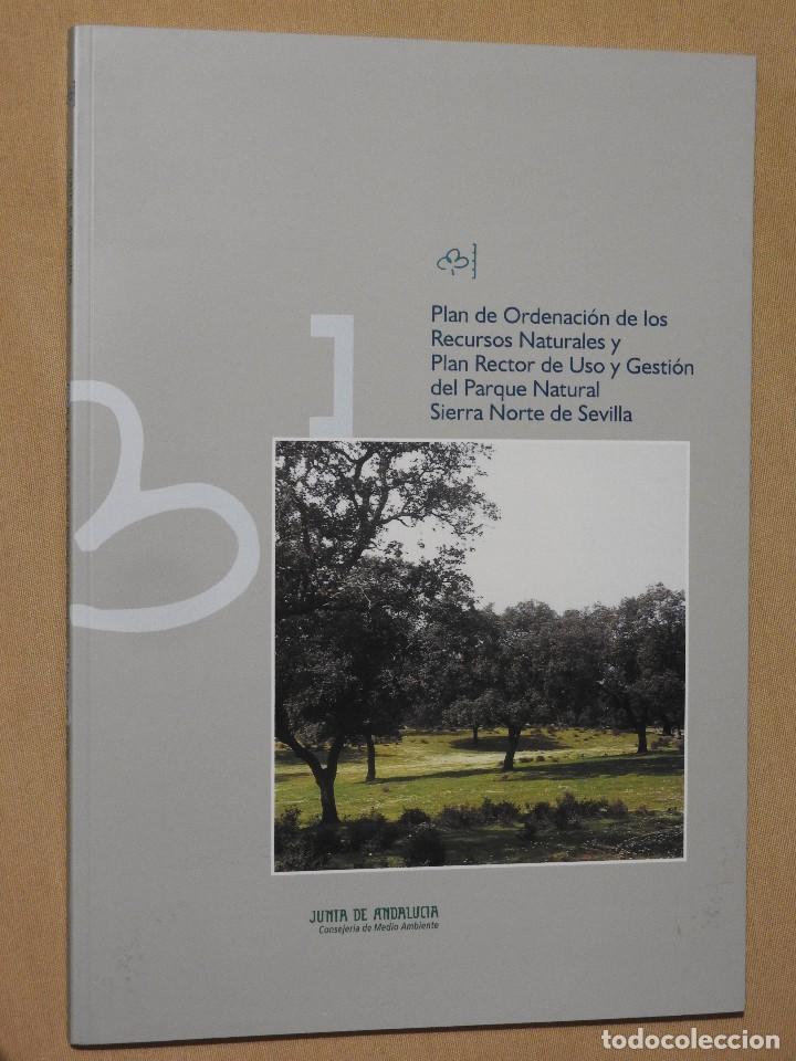 Libros: PORN Y PRUG DEL PARQUE NATURAL SIERRA NORTE DE SEVILLA CON MAPAS - Foto 4 - 112934491