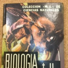 Libros: BIOLOGÍA. TOMO II. JEAN VALLIN. MONTANER Y SIMÓN.. Lote 113511151