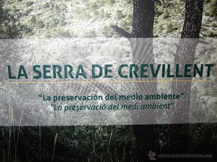 Libros: LA SERRA DE CREVILLENT , LA PRESERVACIÓN DEL MEDIO AMBIENTE , CREVILLENTE - ALICANTE. - Foto 2 - 52530431
