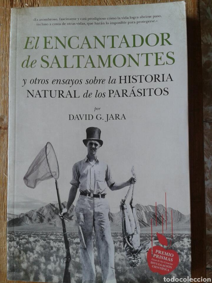 EL ENCANTADOR DE SALTAMONTES Y OTROS ENSAYOS SOBRE LA HISTORIA NATURAL DE LOS PARASITOS (Libros Nuevos - Ciencias, Manuales y Oficios - Biología)