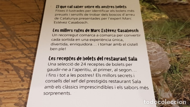 Libros: OCASIÓN !! ATLES DEL BOLETAIRE / EL GRAN LLIBRE DELS BOLETS / 2 LIBROS NUEVOS A ESTRENAR. - Foto 3 - 177493594