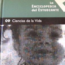 Libros: ENCICLOPEDIA DEL ESTUDIANTE NÚMERO 9 - CIENCIAS DE LA VIDA. Lote 147341553